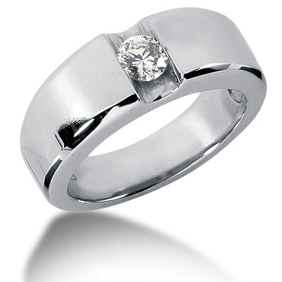 After all with male wedding rings simplistic enough in design