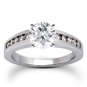 Designer Inspired Engagement Ring