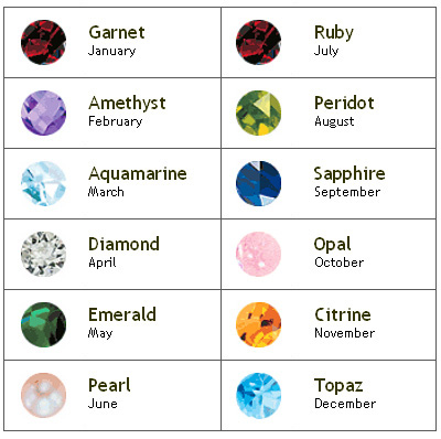 january birthstone new calendar template site
