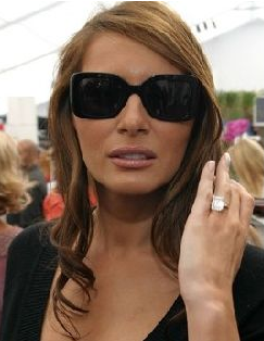 Most expensive celebrity engagement rings bridal jewelry for Melania trump wedding ring cost