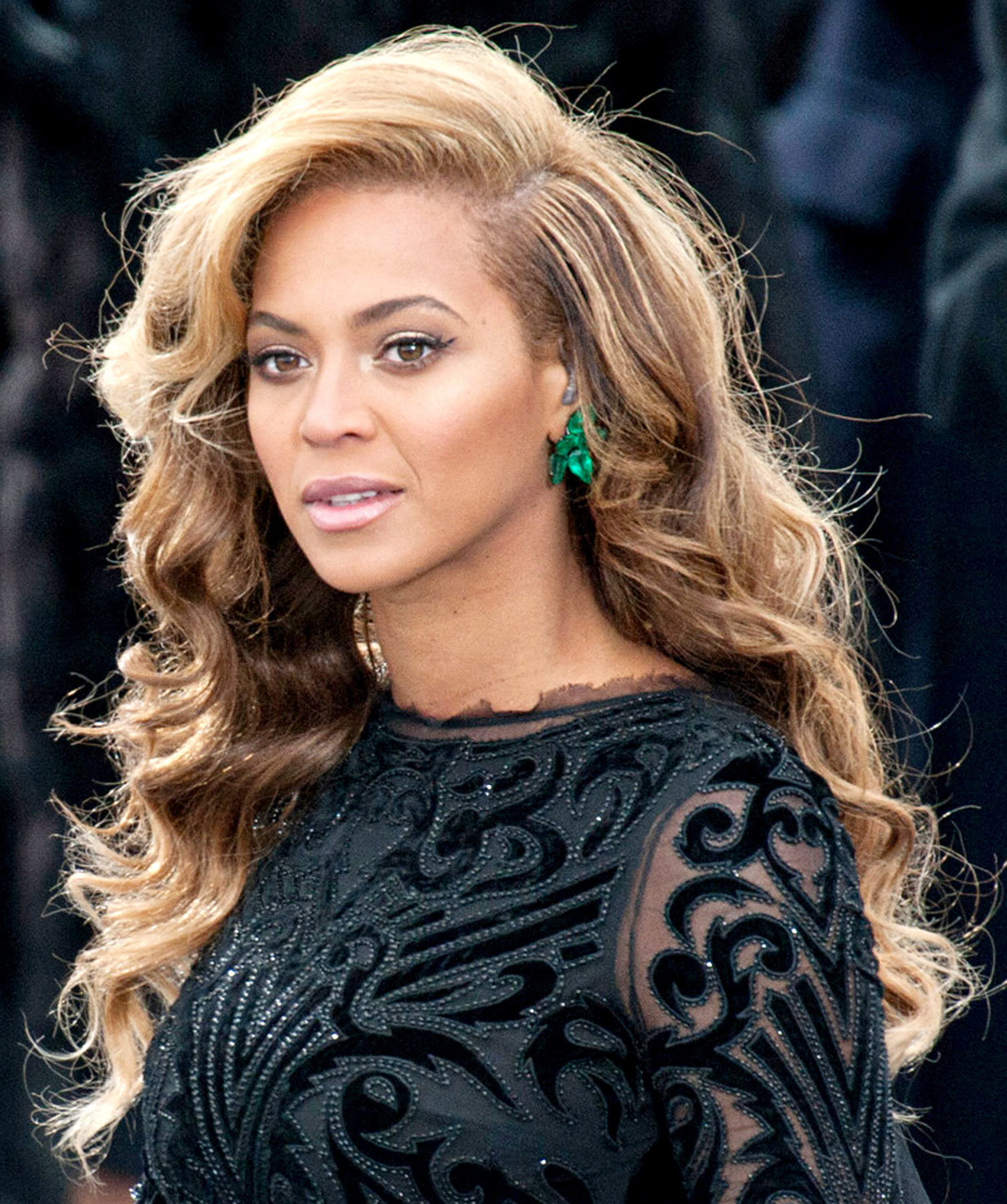 Beyonce Hair At Inauguration