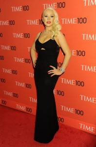 NEW YORK, NY - APRIL 23:  Singer Christina Aguilera attends the 2013 Time 100 Gala at Frederick P. Rose Hall, Jazz at Lincoln Center on April 23, 2013 in New York City.  (Photo by Jennifer Graylock/Getty Images)