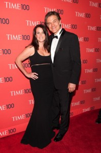 Dr. Mehmet Oz and Lisa Oz attend the 2013 Time 100 Gala at Frederick P. Rose Hall, Jazz at Lincoln Center -Photo by D Dipasupil/FilmMagic