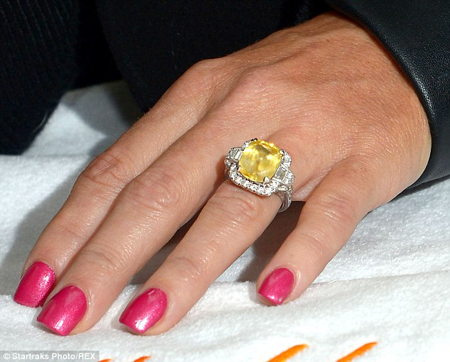 Who has the biggest celebrity engagement ring