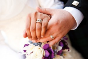 Traditionally, The Ring Finger On The Left Hand Has Always Been The  Location For A Wedding Band. Stemming From A Tudor Belief From The  16th Century, ...