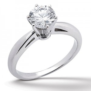solitaire diamond engagement ring you - How Much Should You Spend On A Wedding Ring