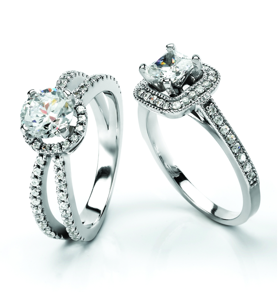 Make A Bold Statement With Right Hand Diamond Rings