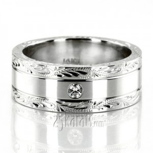 diamond wedding bands for men - Man Wedding Ring