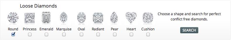 25karats.com Loose Diamonds