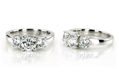 Average Price Of A Wedding Ring 7 Fresh Three stone engagement ring