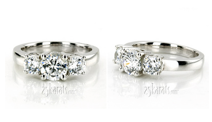 how to keep your diamond engagement ring looking gorgeous - Lesbian Wedding Rings