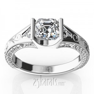 antique-tension-set-engagement-ring