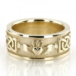 The Deep Symbolism of Celtic Wedding Bands