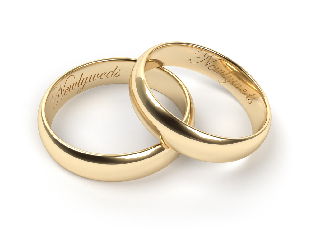 words of love ideas and tips on buying engraved wedding bands - Wedding Ring Engraving Ideas