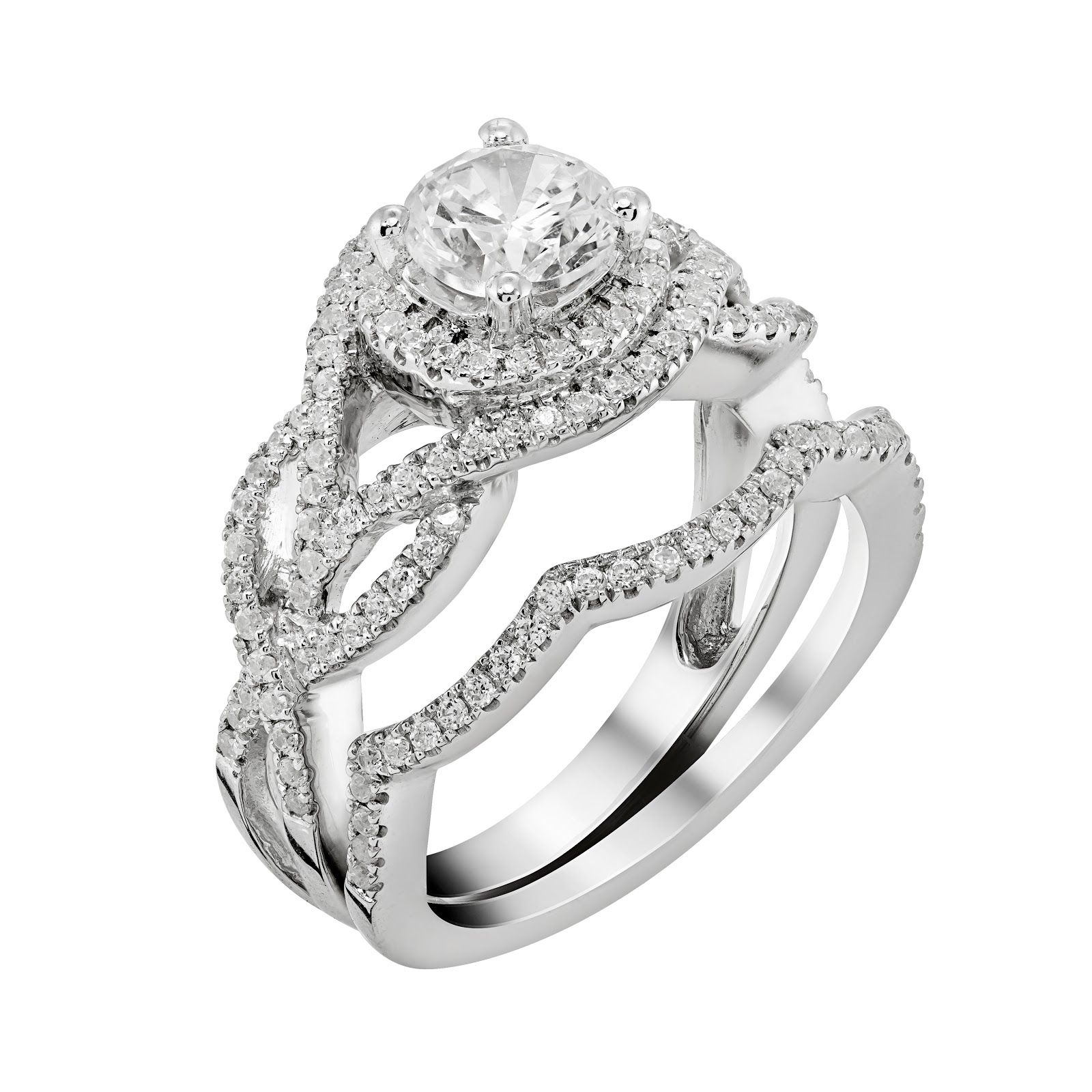 diamonds ring anniversary gold channel crescent jewellery diamond rings white product infinity set
