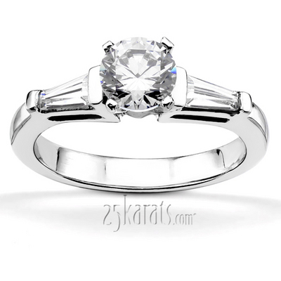 classic-baguette-bar-set-diamond-engagement-bridal-set