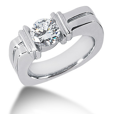 Mens Solitaire Diamond Rings India