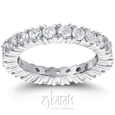 2.10 ct. Diamond Eternity Wedding Band