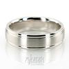 Dc663 diamond cut wedding band