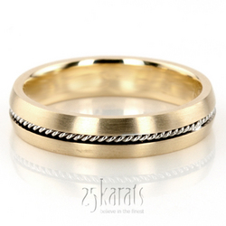 Hm034 hand made wedding ring