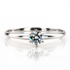 Enr3267 round cut 6 prong classic solitaire engagement ring