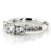 Ens7955 r trellis setting three stone diamond engagement ring