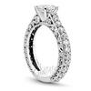14k 18k yellow or white platinum palladium diamond engagement ring