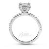 14k 18k gold platinum palladium diamond engagement ring