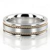 Hc100250 bestseller satin hand braided wedding ring
