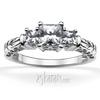 Antique filigree diamond engagement ring