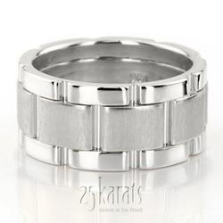 Hm011 rolex style bestseller handmade wedding ring white