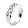 1.50 ct. Round Cut Channel Set Diamond Men's Ring