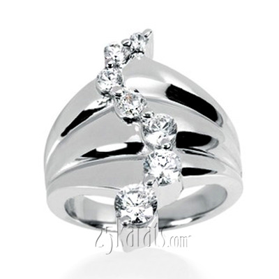 0.50 ct. Diamond Journey Fancy Ring