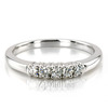 Five Stone Prong Set Diamond Anniversary Ring (0.25 ct. tw.)