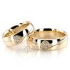 Wedding band set hh dw101343 l