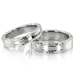 Wedding band set hh fc100477