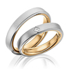 Wedding band set hh 163