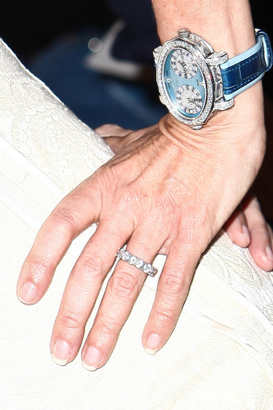 ramona singer wedding band source chelsea laurengetty images north america - Giuliana Rancic Wedding Ring