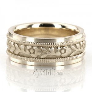 Wedding Rings Phoenix 5 Simple The wedding gown The