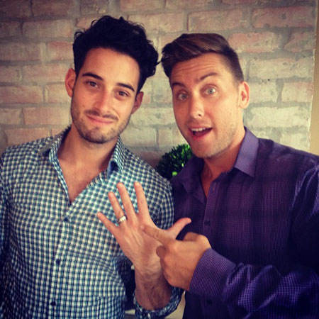 Photo: Lance Bass via Instagram