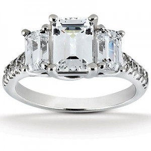 Black Hills Gold Wedding Rings Sets 82 Trend micro pave emerald cut