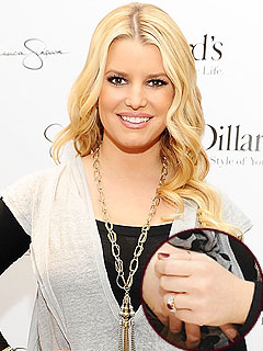 Jessica Simpson and Eric Johnsons Wedding Bridal Jewelry
